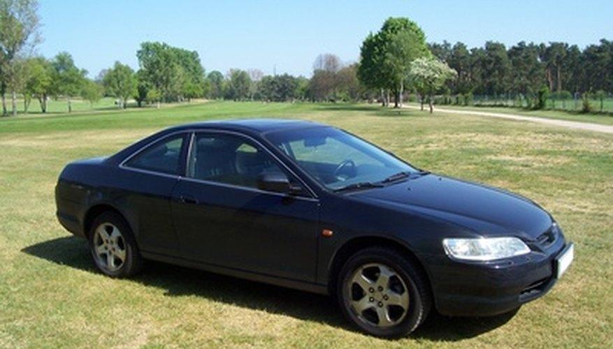 El Accord también es vendido en forma coupe, pero no es su variedad más vendida.