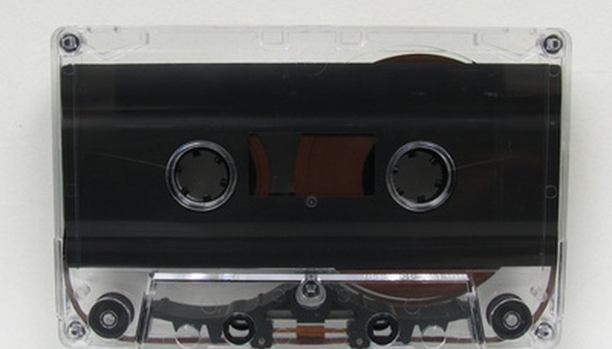 Damaged cassette tapes can be restored to playable condition.