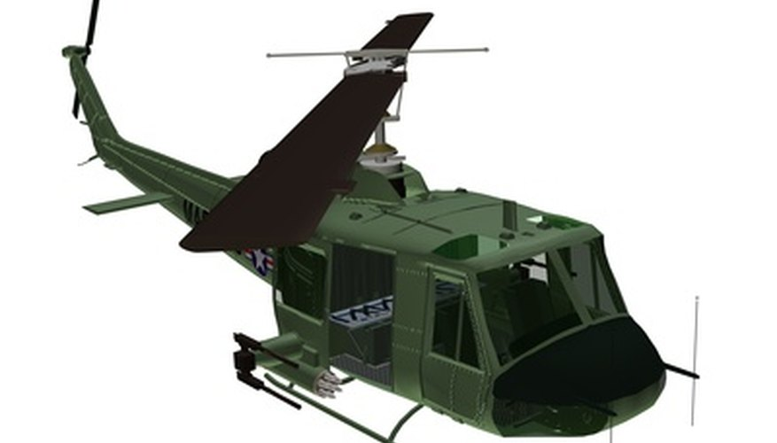 A military helicopter design