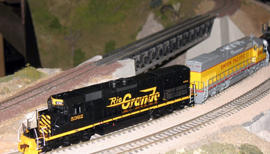 Regular lubrication of model railroad engines will keep your trains running smoothly.