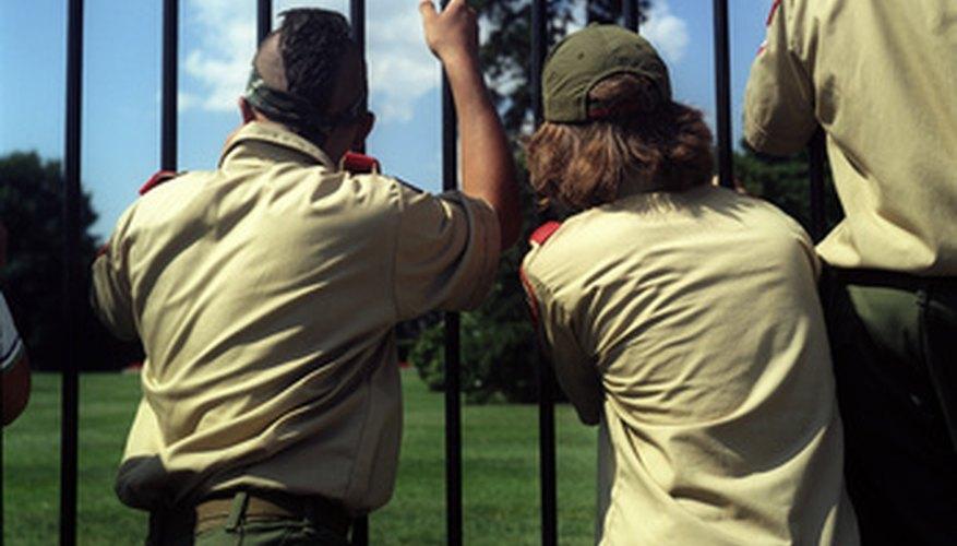 Los niveles de los Boy Scouts.