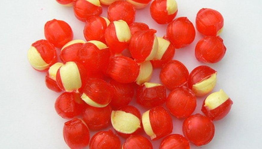 Muchos distribuidores de dulces venden diferentes tipos de caramelos.