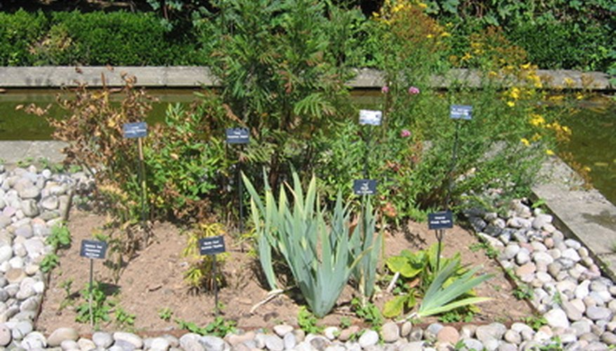 Creating planting beds can prevent soil from washing away.