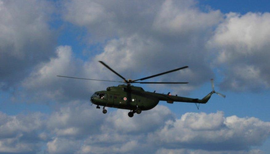 Los principios de vuelo del helicóptero se basan en la misma física que en los aviones de ala fija.