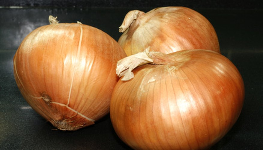 Grow onions in a small space.