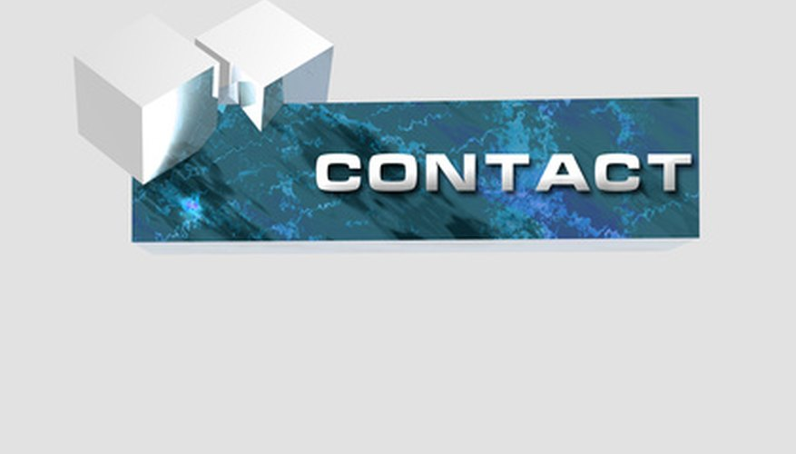 The View's contact page is easy to interpret.