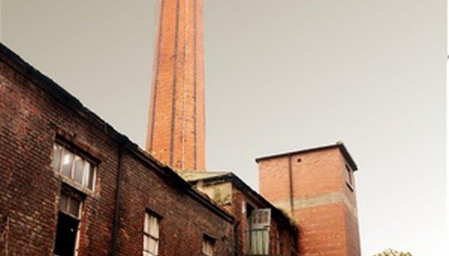 English cotton mills were the first modern factories.