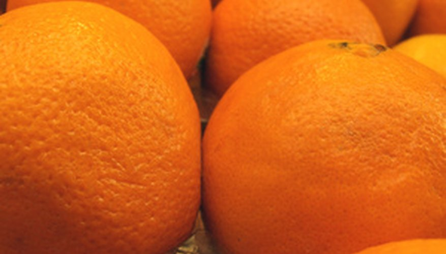 Ambersweet oranges are easy to peel.