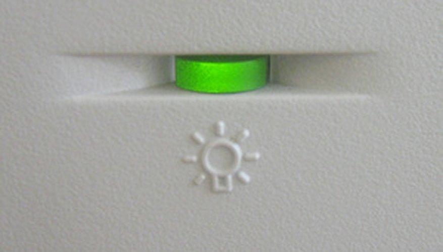 Un LED verde en tu computadora indicará una operación correcta de hardware.