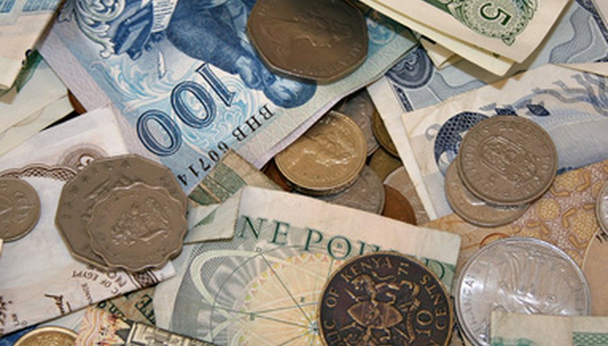 Foreign currency is purchased by many different buyers.