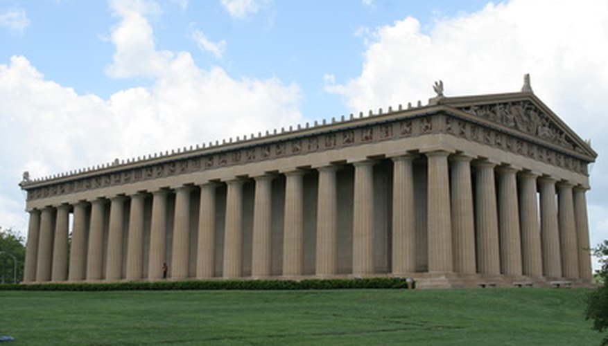 The Parthenon is a classic example of Greek architecture.