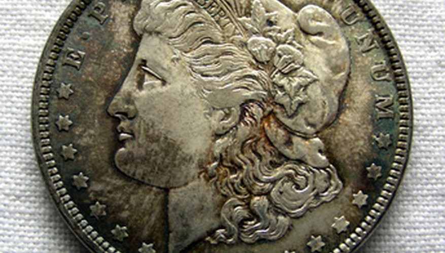 Most silver dollars tone naturally with age and use.
