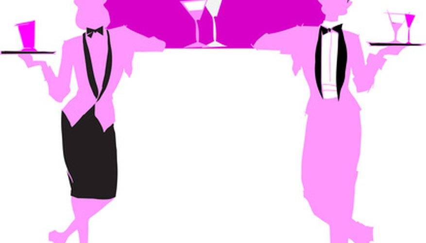 Un buen camarero puede ganar un 20 por ciento en propinas.