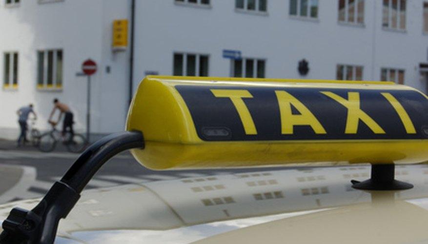 Establecer un negocio de taxis requiere más que solo automóviles.