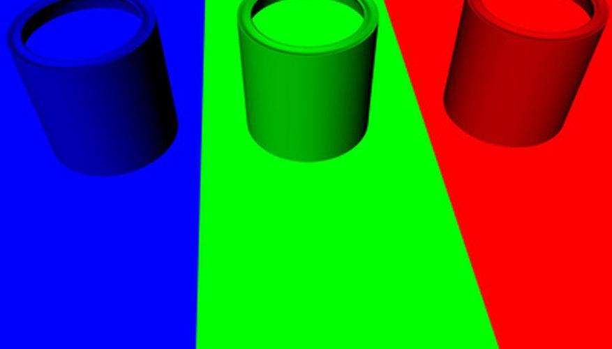La tinta termocrómica cambia de color al exponerse a diferentes temperaturas.