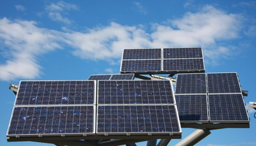 Solar panels produce DC voltage.