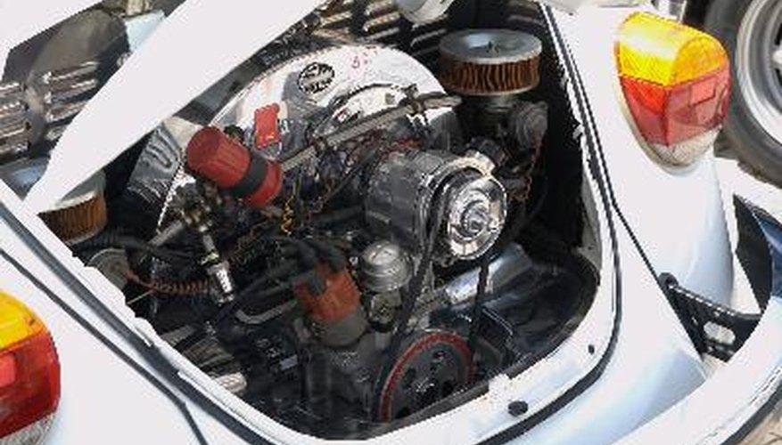 El motor bóxer refrigerado por aire de VW