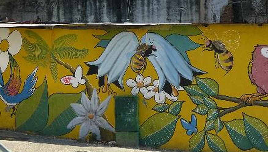 Ideas para murales en paredes exteriores geniolandia Murales decorativos para exteriores