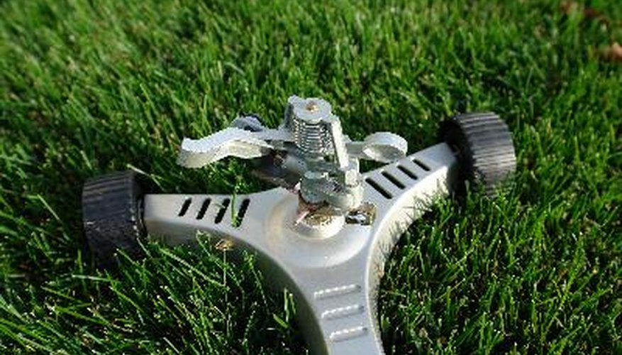 Rain Bird sells sprinkler heads that attach to garden hoses.