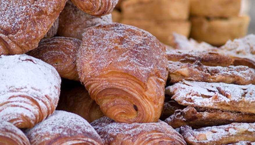 Some home food businesses create and sell pastries.