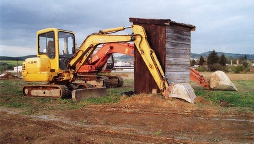 Una excavadora es un excelente ejemplo de una máquina compuesta.