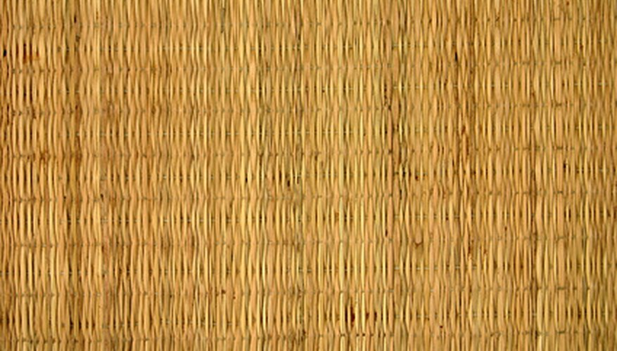 Tightly woven bamboo makes an excellent privacy fence.