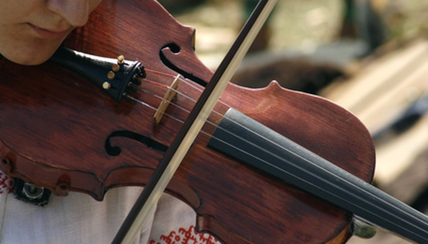 Violin can be either a melody or an accompaniment instrument