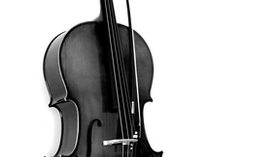 Cellos are typically made of wood, but can be made out of different materials such as carbon fiber.