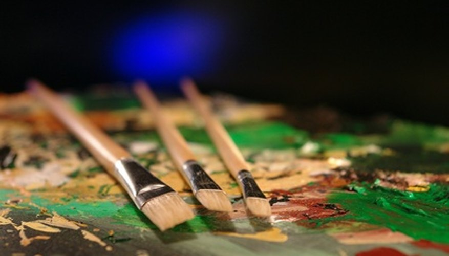 Las herramientas del pintor en las manos de un talento como Van Gogh hacen obras maestras.