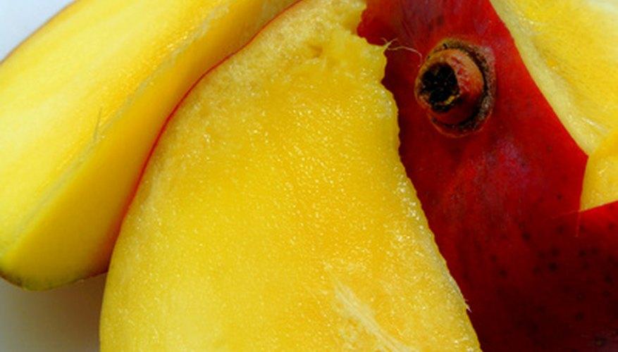 Los mangos maduros tienen un sabor dulce y ácido.