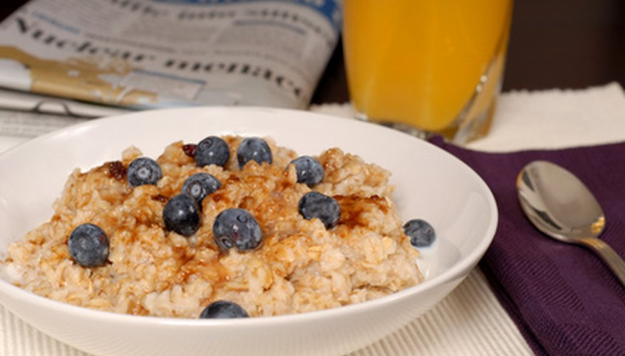Add ground flax and barley seeds to your morning oats.