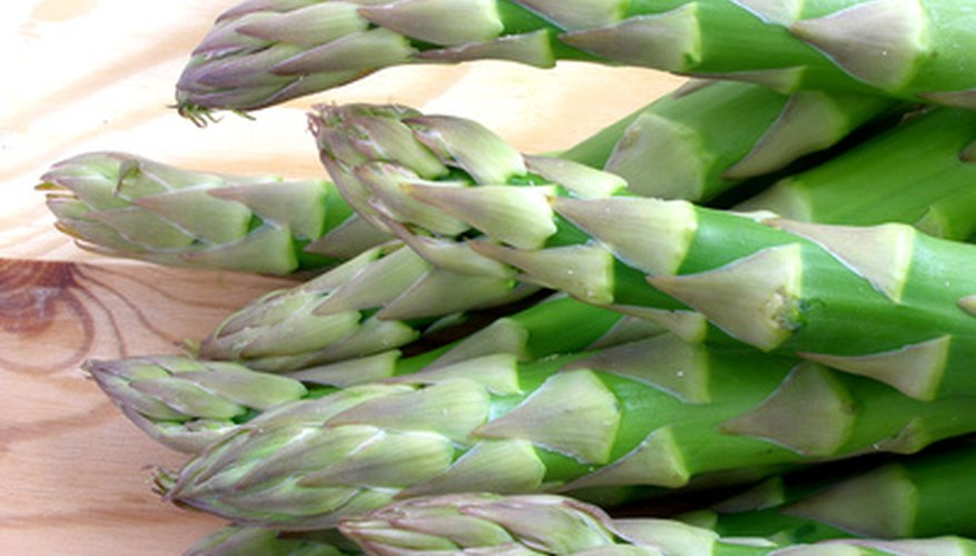Grow fresh asparagus for 15 years on the same plants.