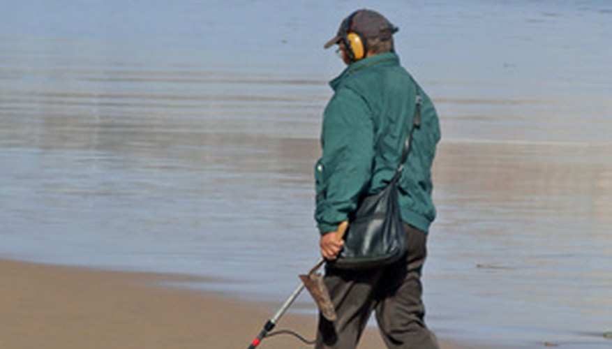 You can find a lot of interesting items with a metal detector.