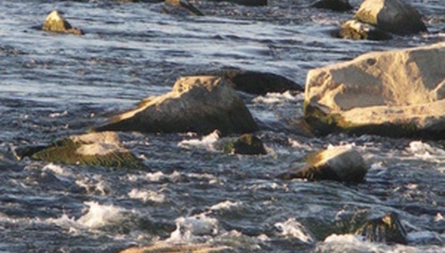 Las válvulas de retención mantienen el agua fluyendo en la dirección correcta.