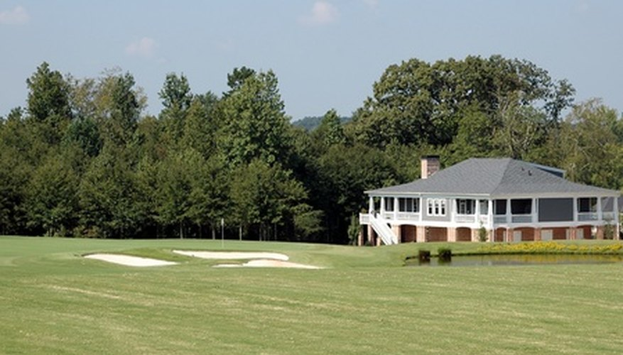 Golf courses are often allowed in low density residential zones.