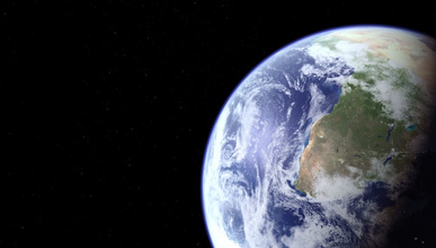 Plate tectonics shape Earth's oceans and continents.