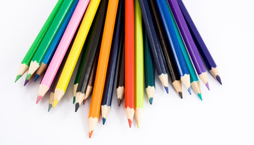 Many colors can be made using the primary colors of Prismacolor pencils.