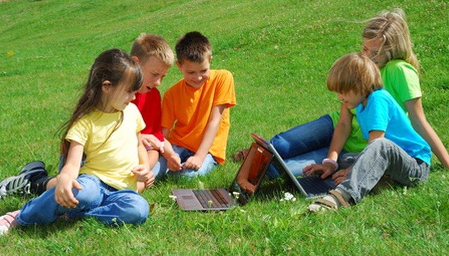 Muchos juegos de exterior necesitan al menos cinco jugadores para que sean divertidos.