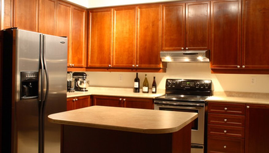 Stainless steel appliances look modern and upscale