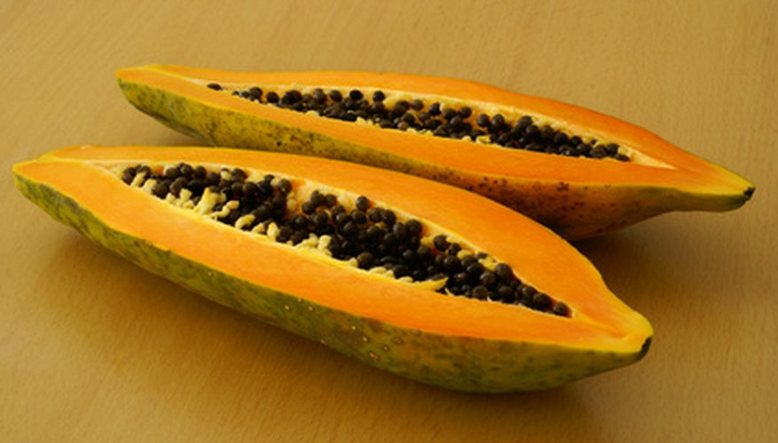 Papayas are among the fruit that grows well in Houston.
