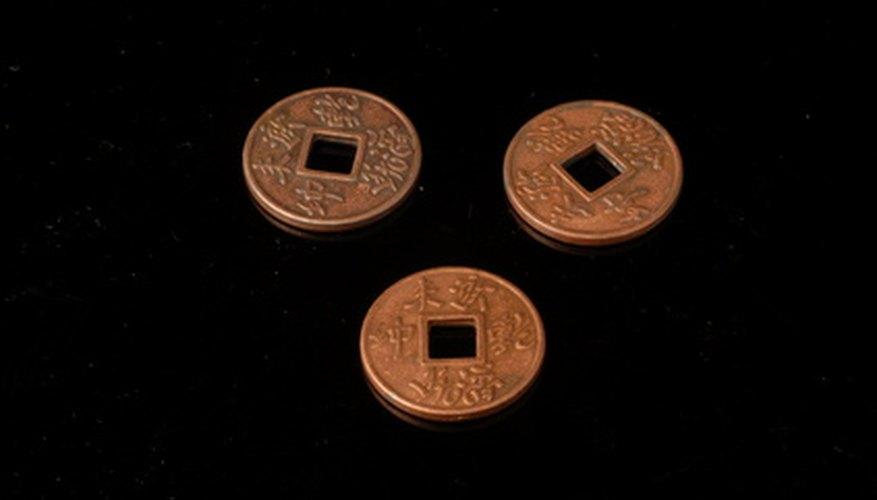 Las monedas I Ching también son utilizadas como oráculo para predecir el futuro.