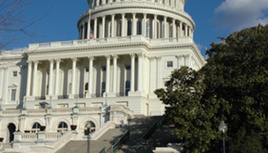 Washington cuenta con una gran cantidad de monumentos históricos, incluyendo el Capitolio.
