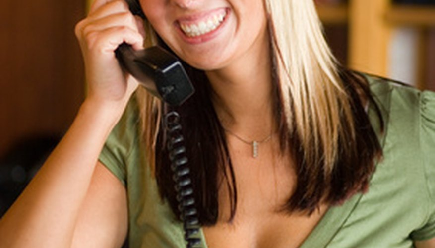 Receptionists are the public face of a company.