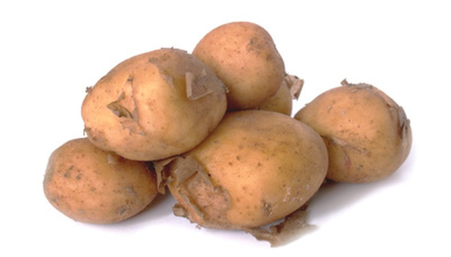 Grow your own potato crop in a pot.