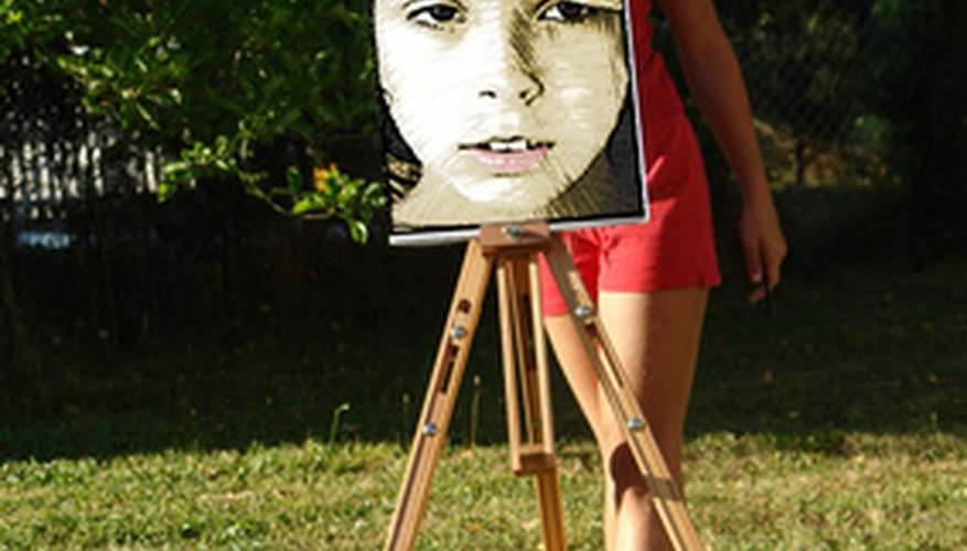 Many artists believe that if they can capture the eyes of a portrait, the rest of the painting will fall into place.