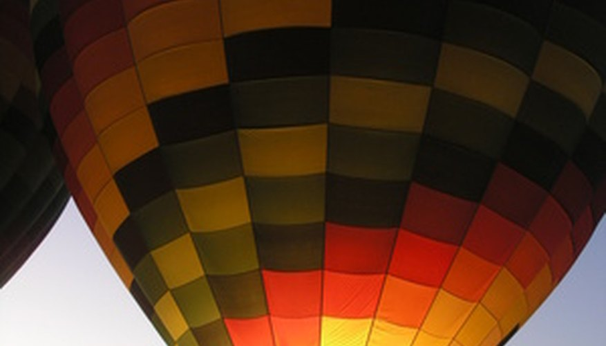 Set your sights high with a hot air balloon ride.