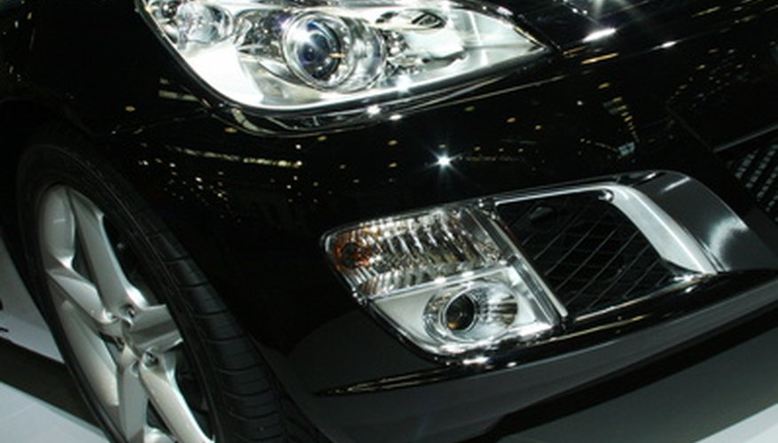 front wheel and headlight