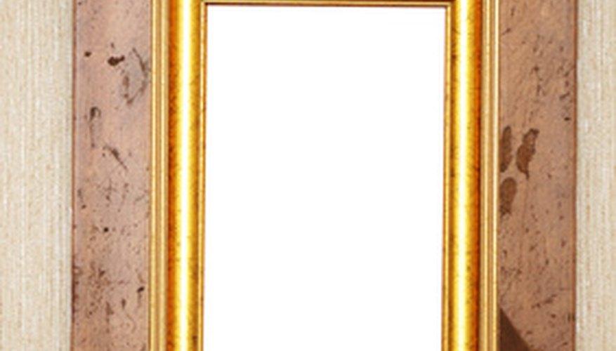 C mo lograr una apariencia antigua con pintura dorada - Pintura dorada para madera ...