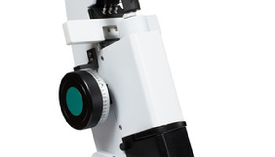 Microscopes are delicate instruments and must be handled carefully.