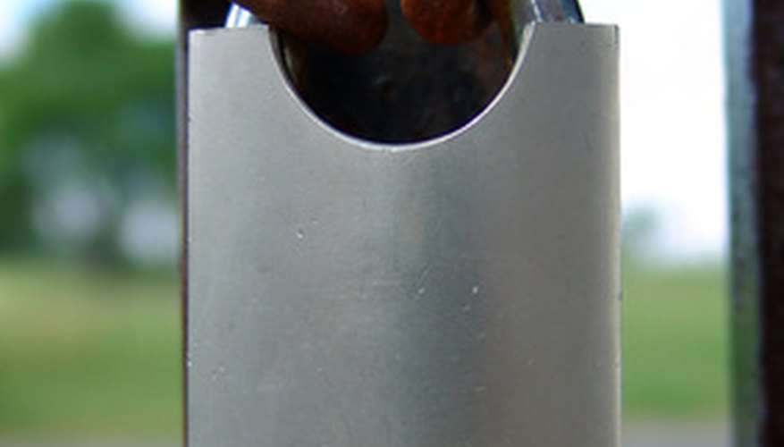 A lockbox works similarly to and resembles a padlock.